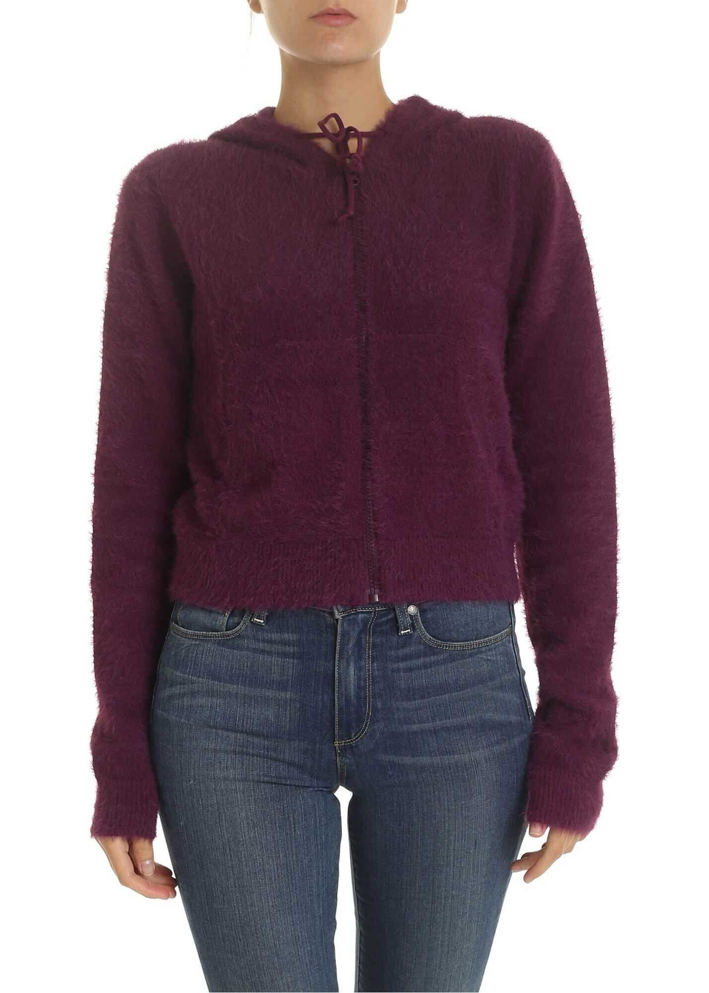 Haflinger Sweatshirt In Purple thumbnail