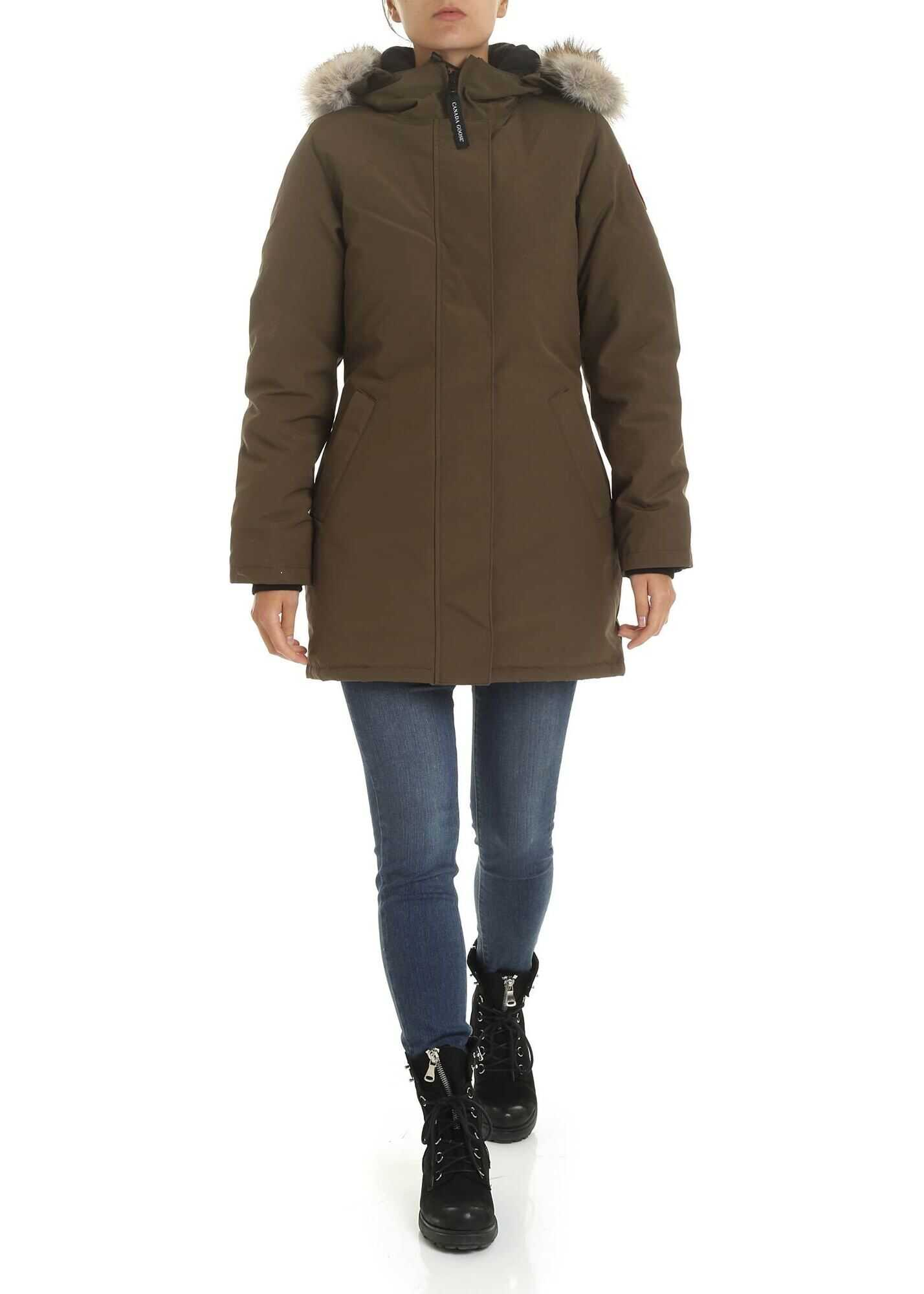 CANADA GOOSE Victoria Parka In Army Green Green