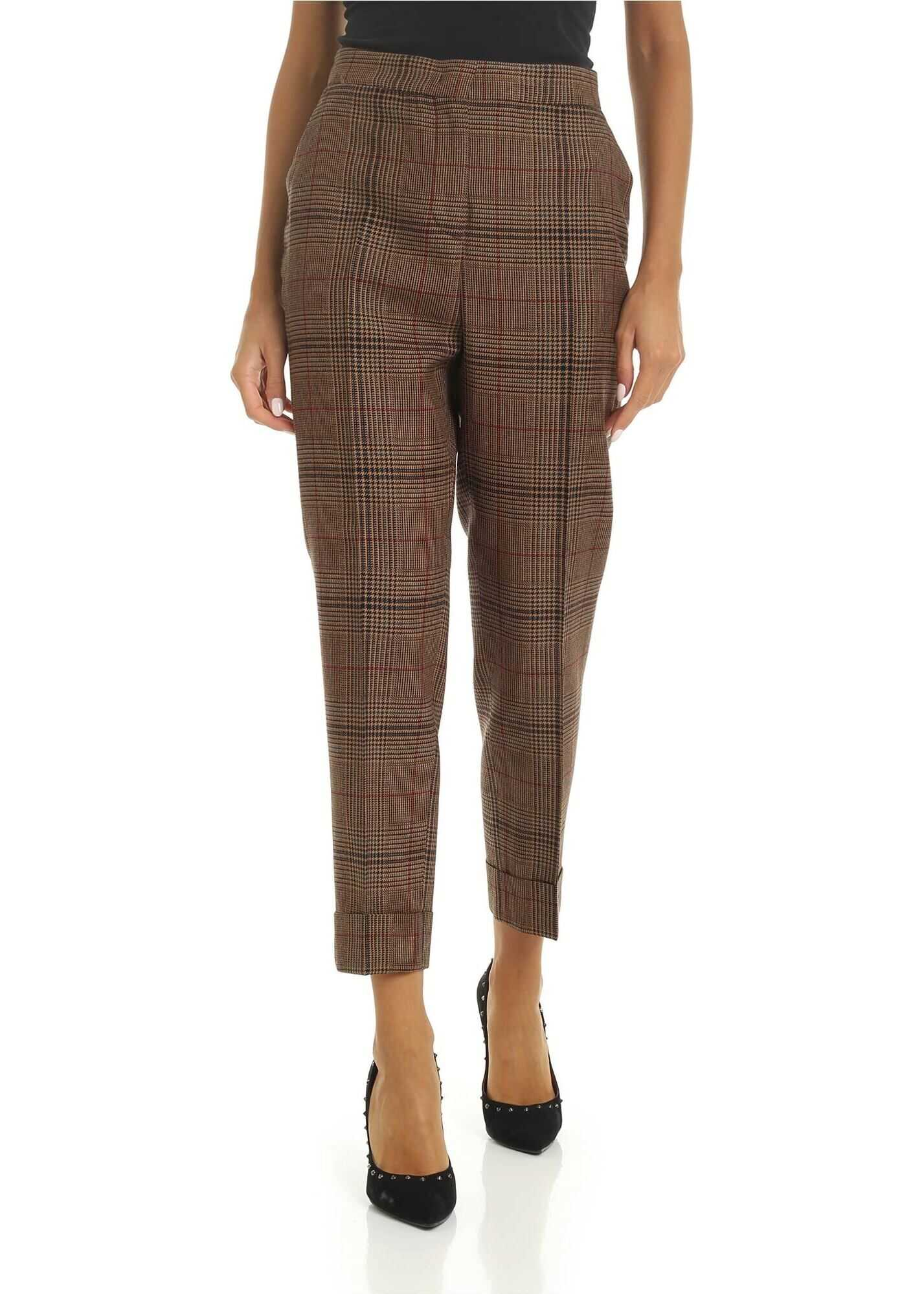 Andrea Trousers In Camel Color thumbnail