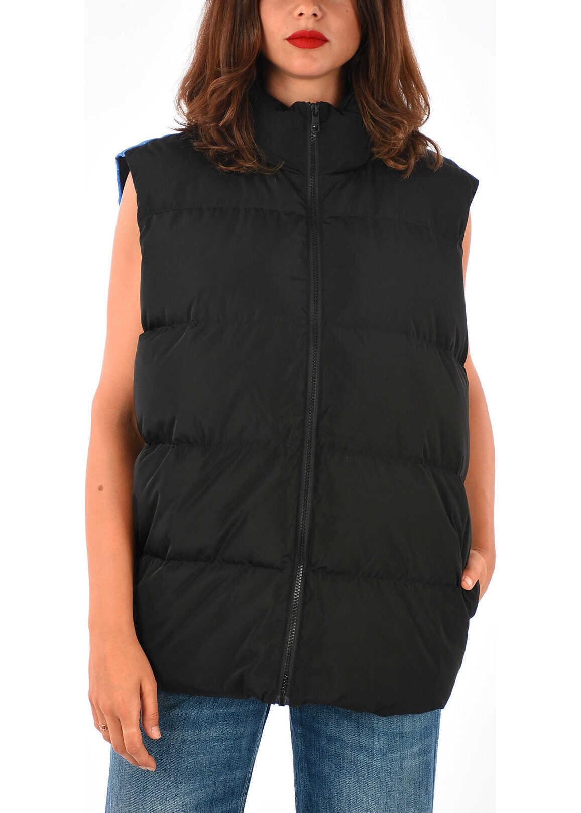 Calvin Klein JEANS EST. 1978 Printed Sleeeves Down Jacket MULTICOLOR
