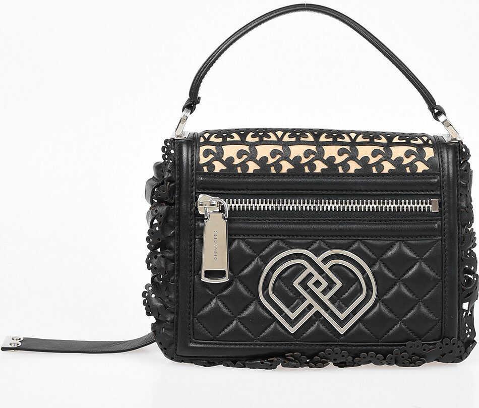 DSQUARED2 Leather Mini Bag BLACK