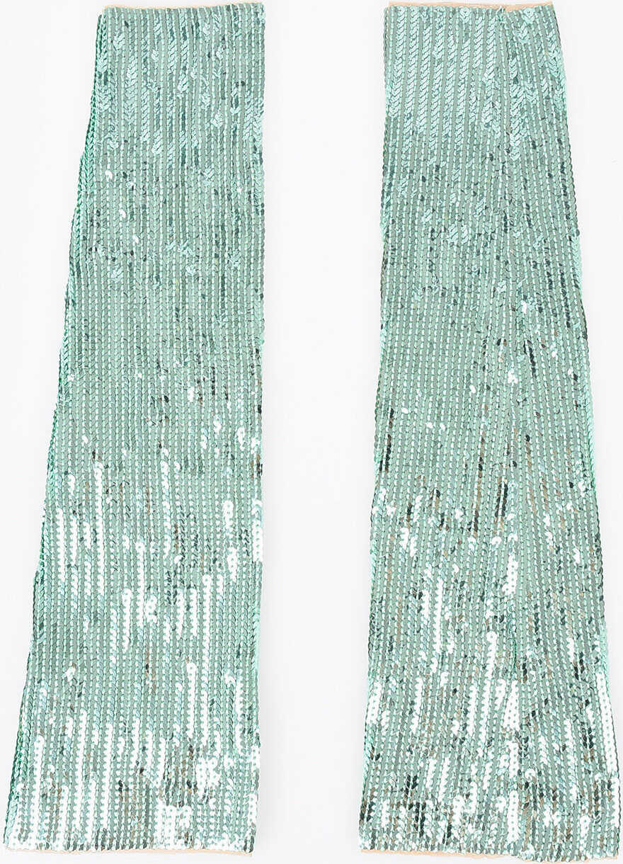 DSQUARED2 Sequined Sleeves GREEN