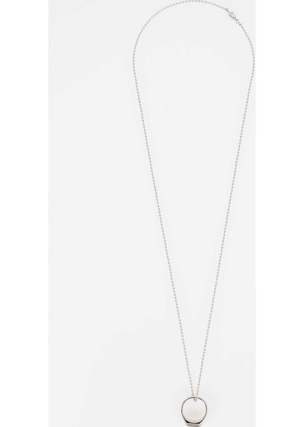 DSQUARED2 Necklace with Ring SILVER