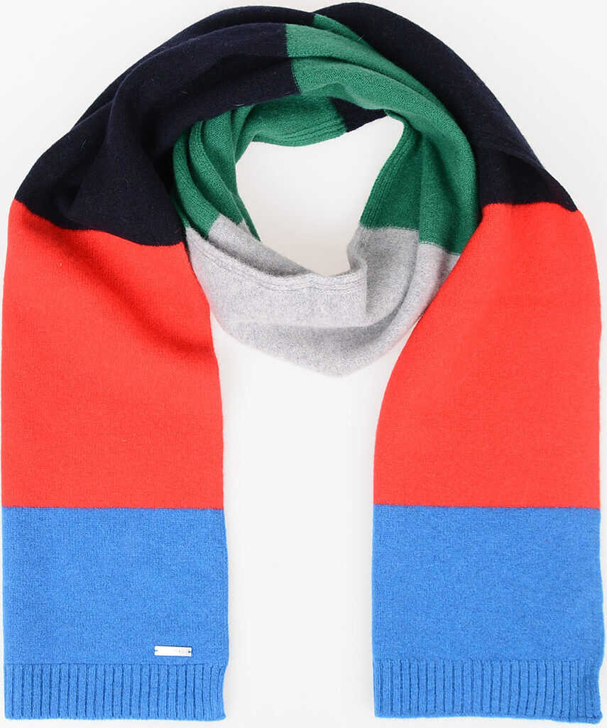DSQUARED2 Wool Scarf MULTICOLOR