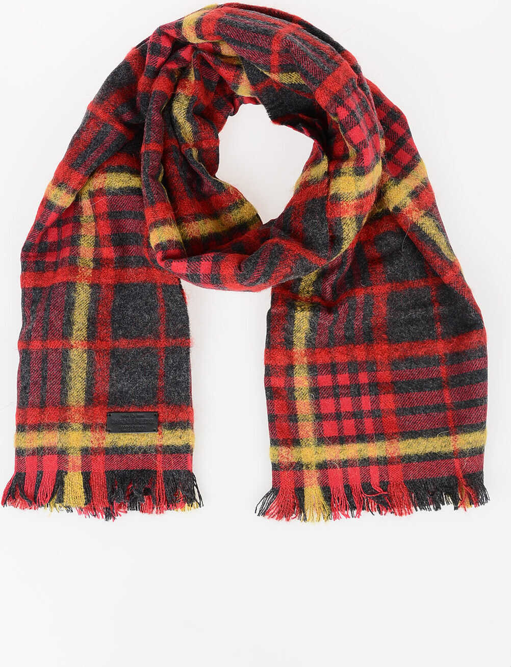 DSQUARED2 Checked Scarf MULTICOLOR