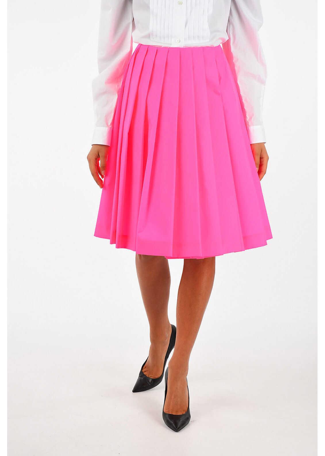Prada Plisse Skirt PINK