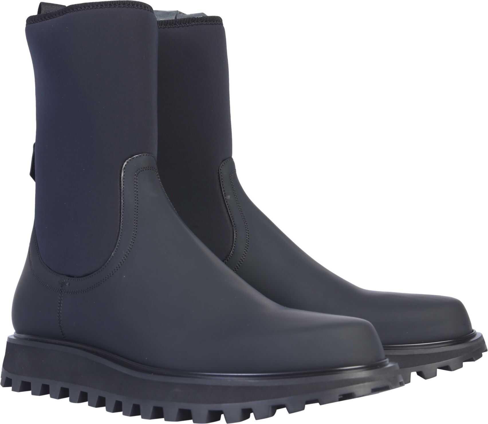 Dolce & Gabbana Vulcanized Boot BLACK
