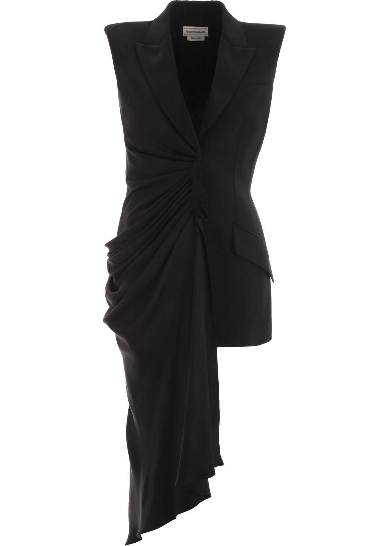 Alexander McQueen Sleeveless Blazer BLACK