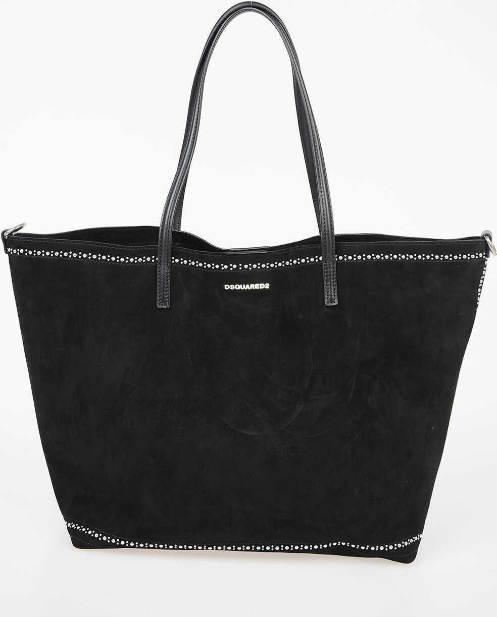 Suede Leather Bag with Studs thumbnail
