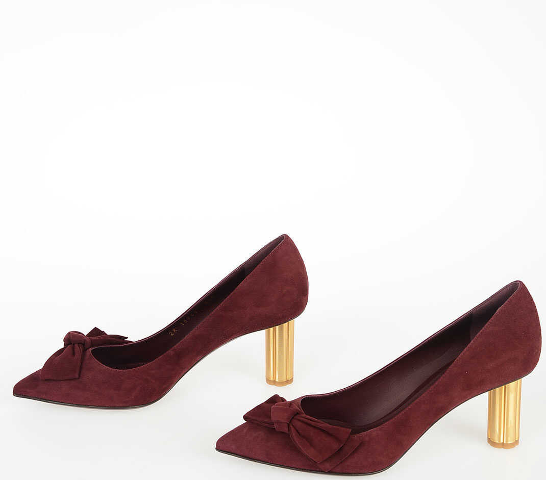 7cm Suede Leather GARLATE Pumps thumbnail