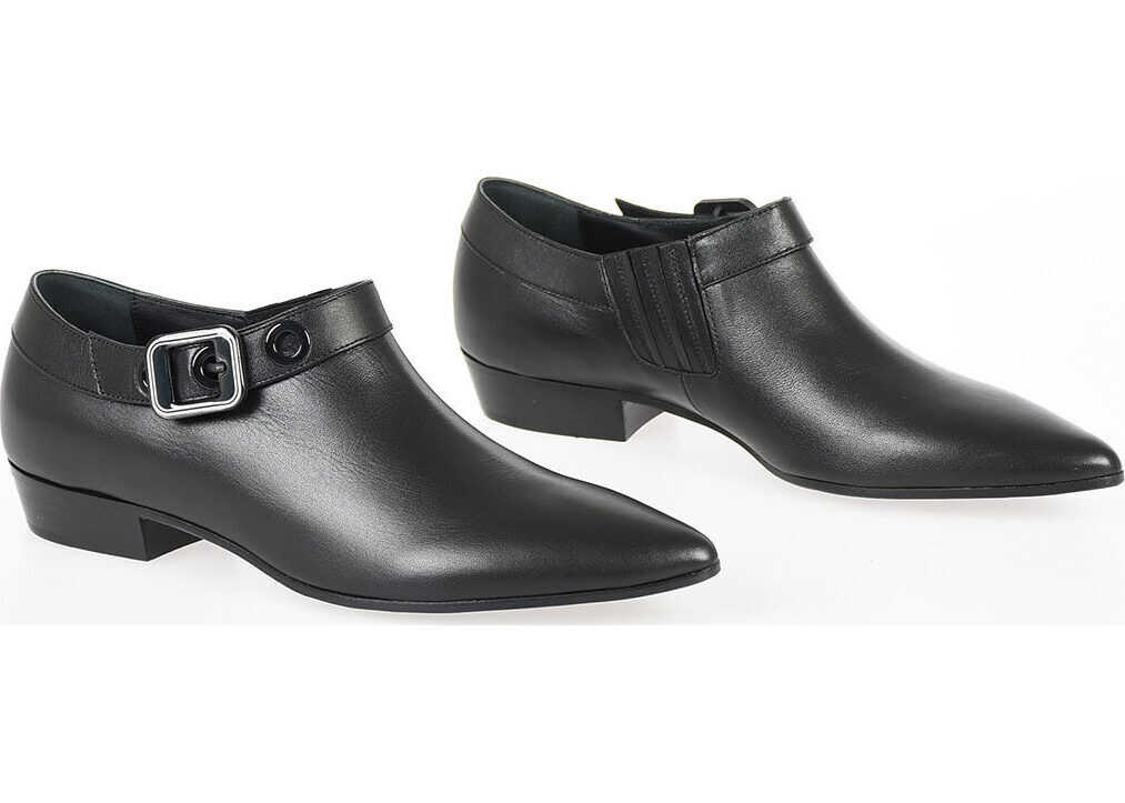 Leather Smooth Ankle Boots thumbnail