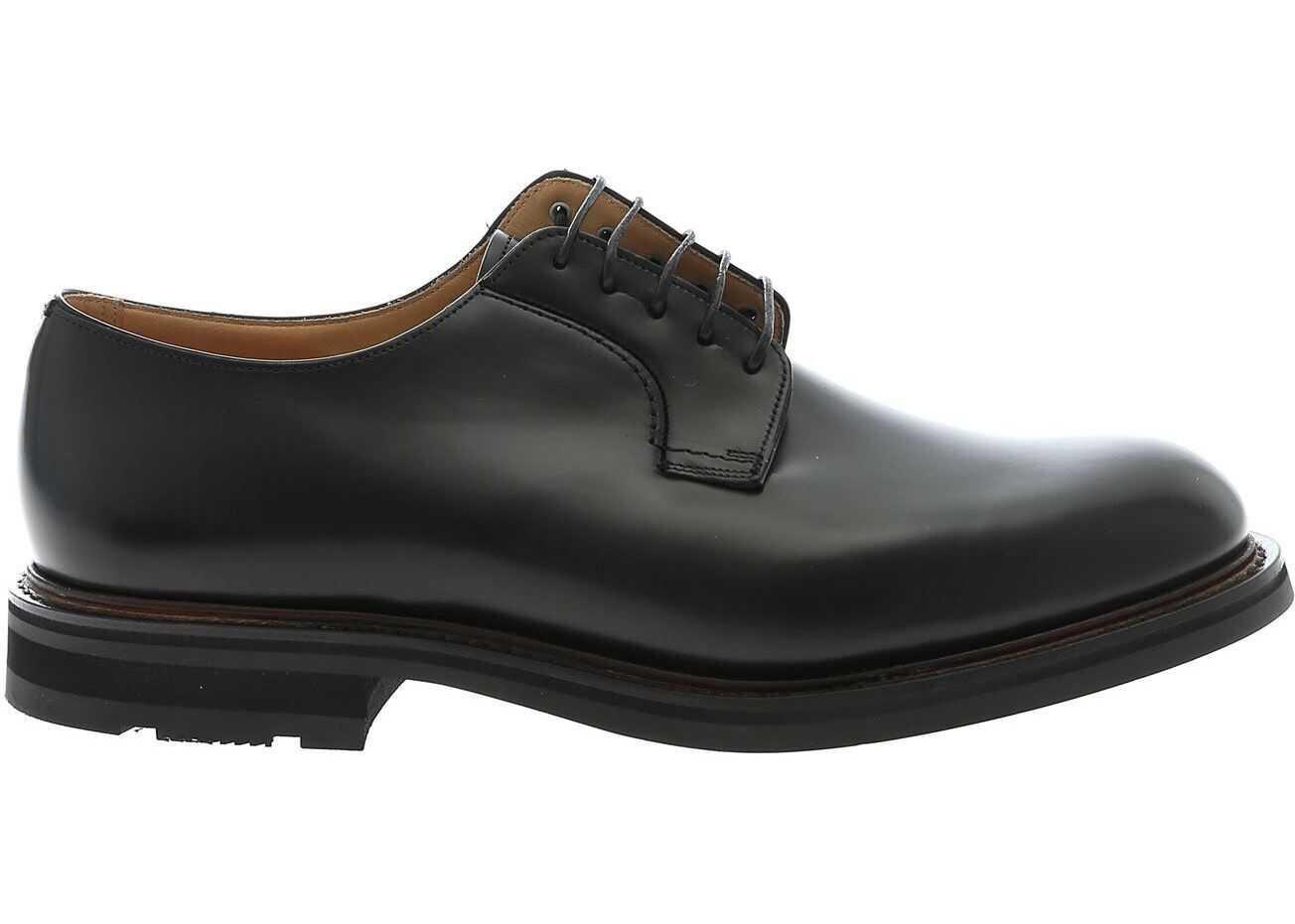 Woodbridge Derby Shoes In Black thumbnail