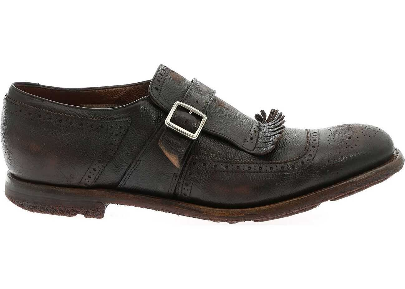 Monk Strap Shanghai Brown thumbnail
