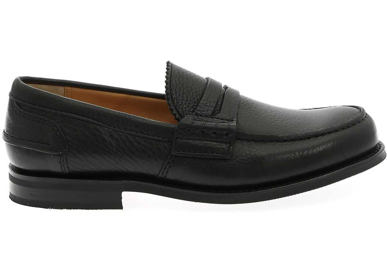 Church's Pembrey Loafers In Black Black