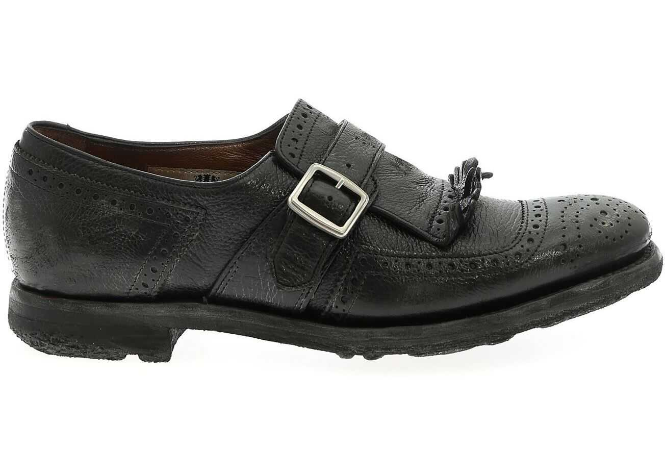 Church`s Monk Strap Shanghai In Black Black