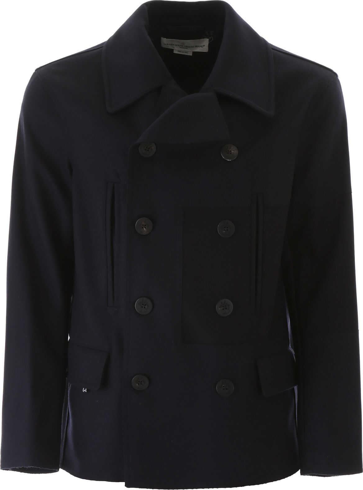 Wool Cloth Pea Coat