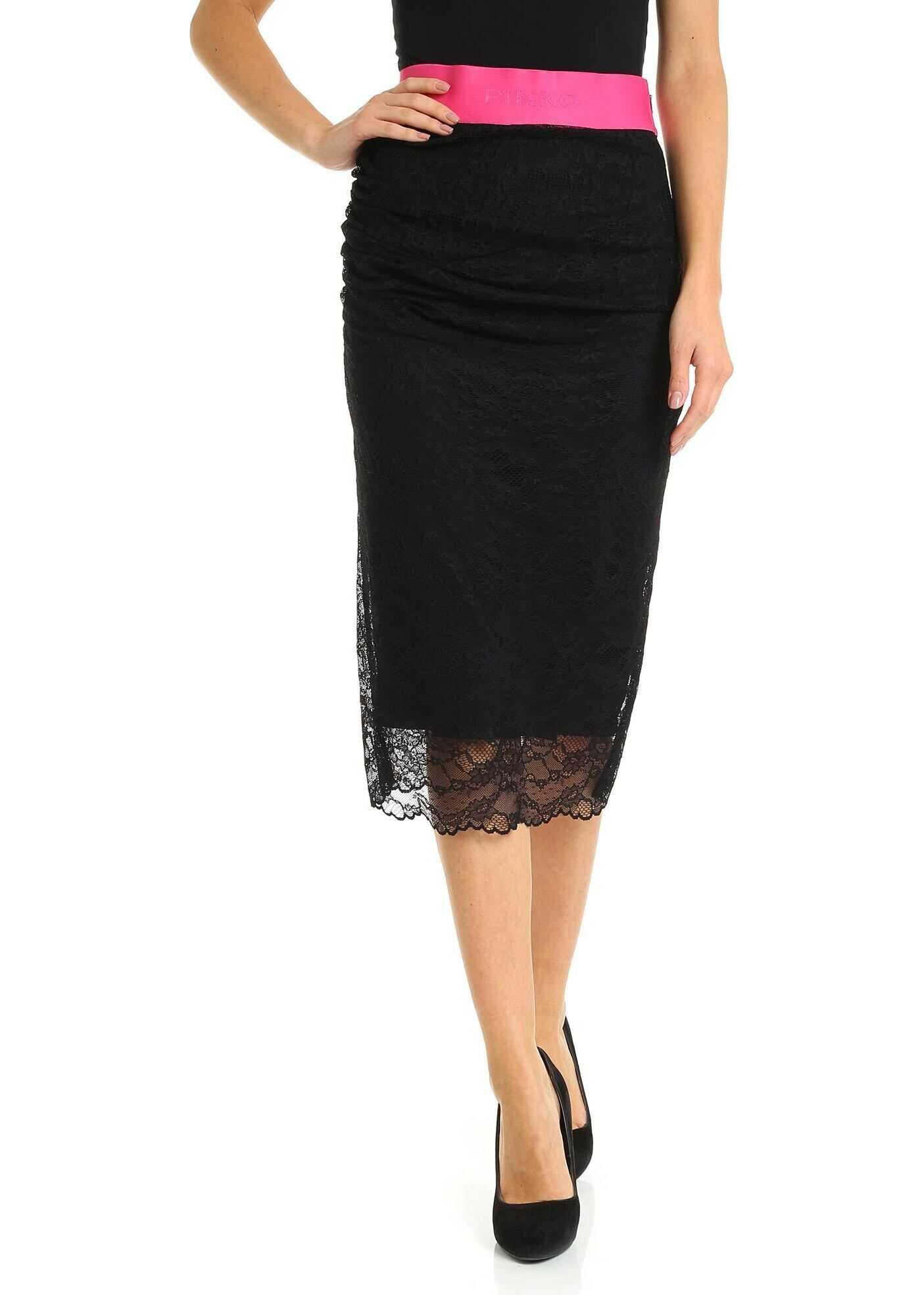 Tremare Skirt In Black thumbnail