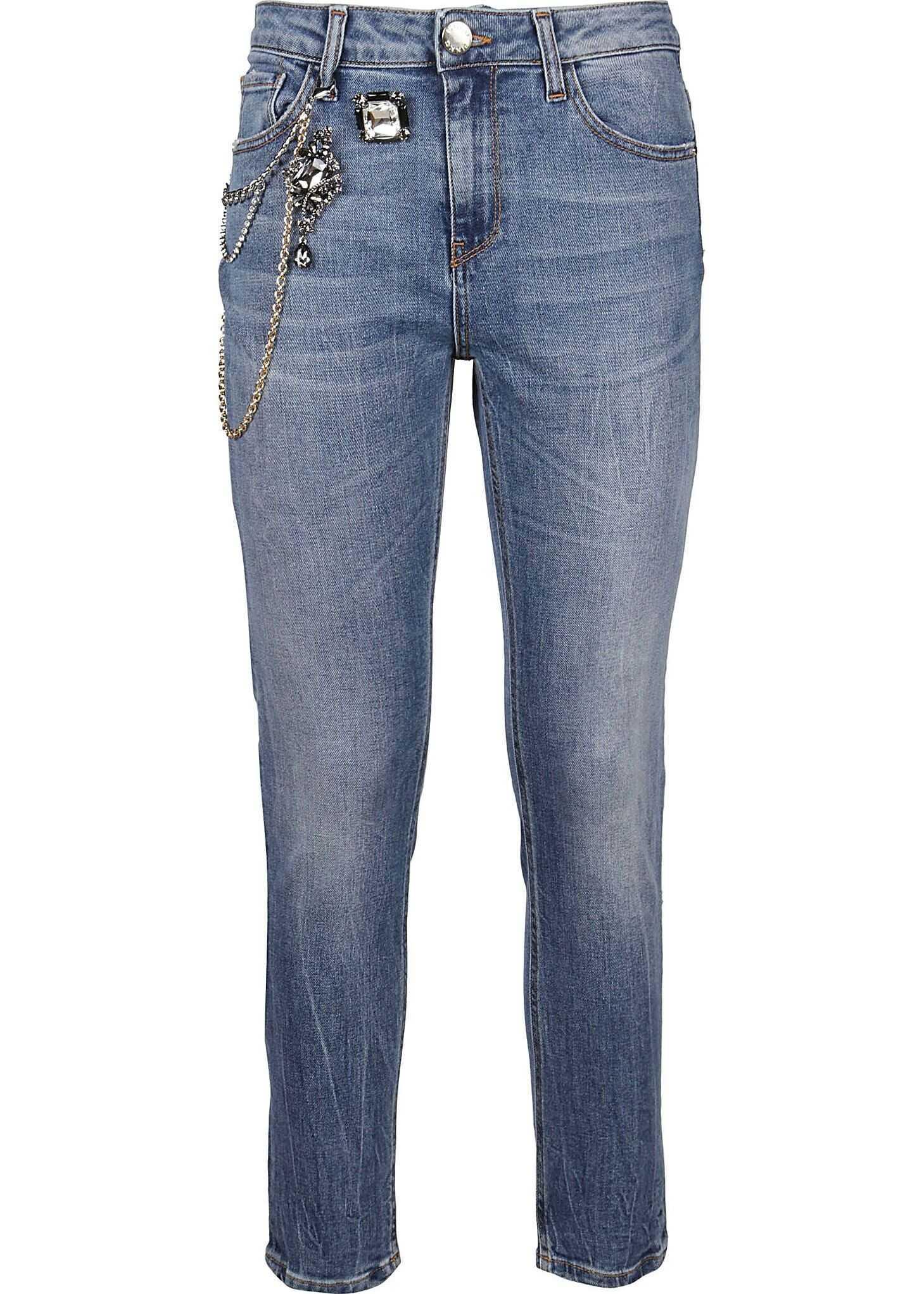 Pinko Cotton Jeans BLUE