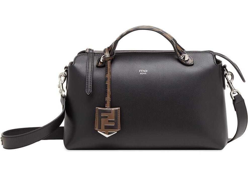 Fendi Leather Handbag BLACK