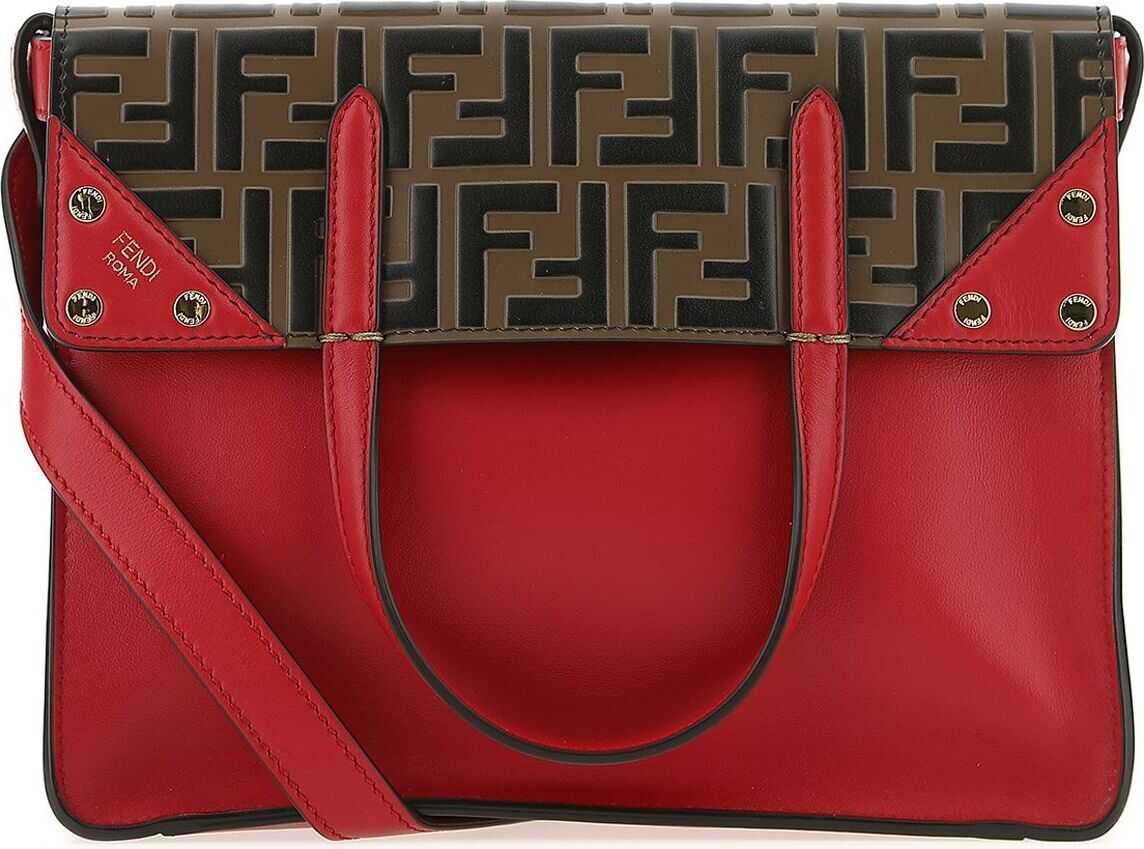 Fendi Leather Tote RED