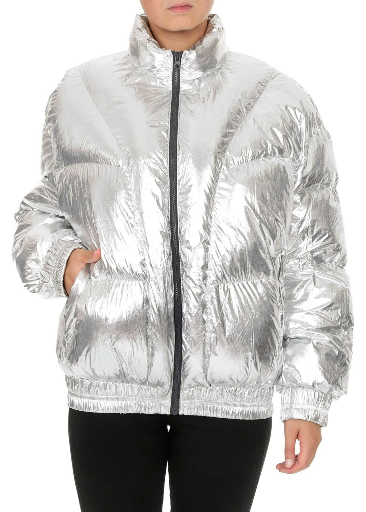 Isabel Marant Kristen Down Jacket In Silver Color Silver