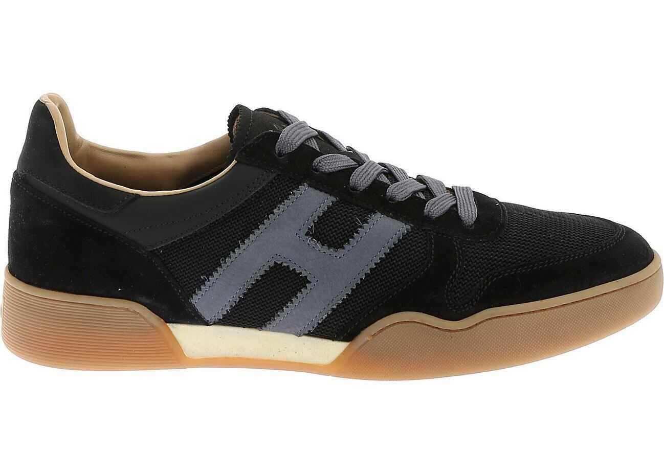 Hogan H357 Sneakers In Blue Blue
