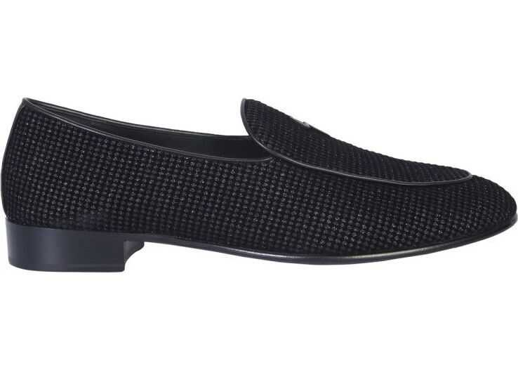 Giuseppe Zanotti Fabric Loafers BLACK