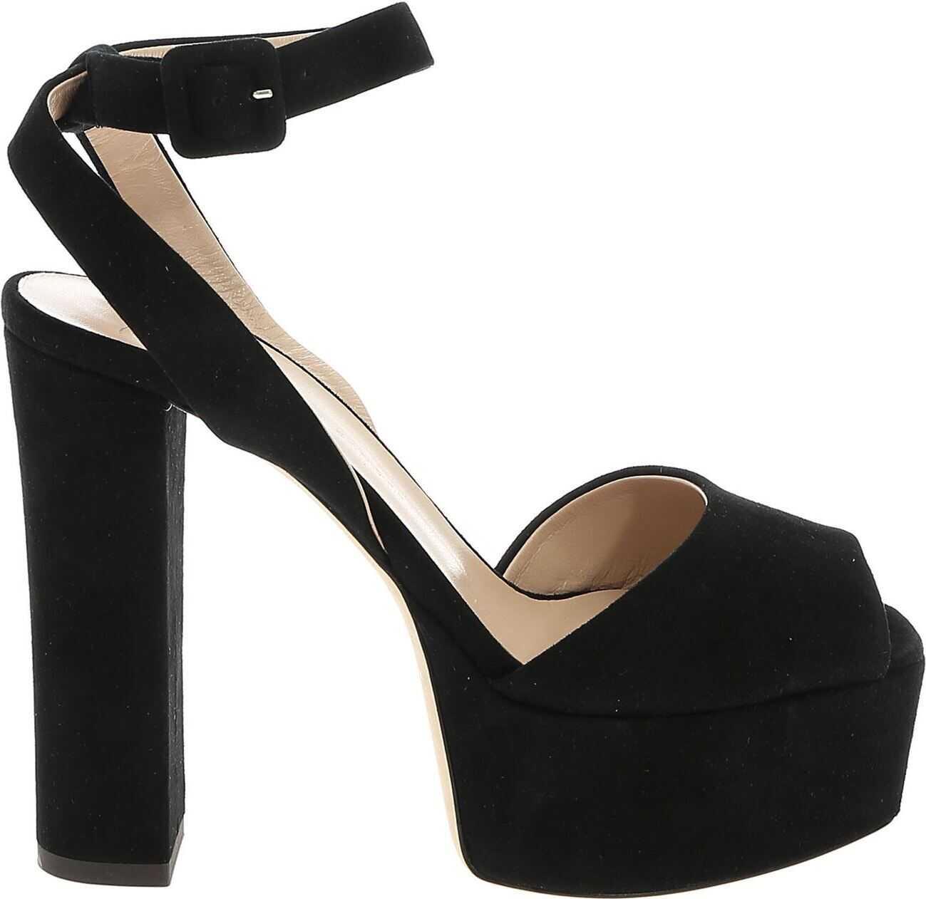 Lavinia Sandals In Black thumbnail