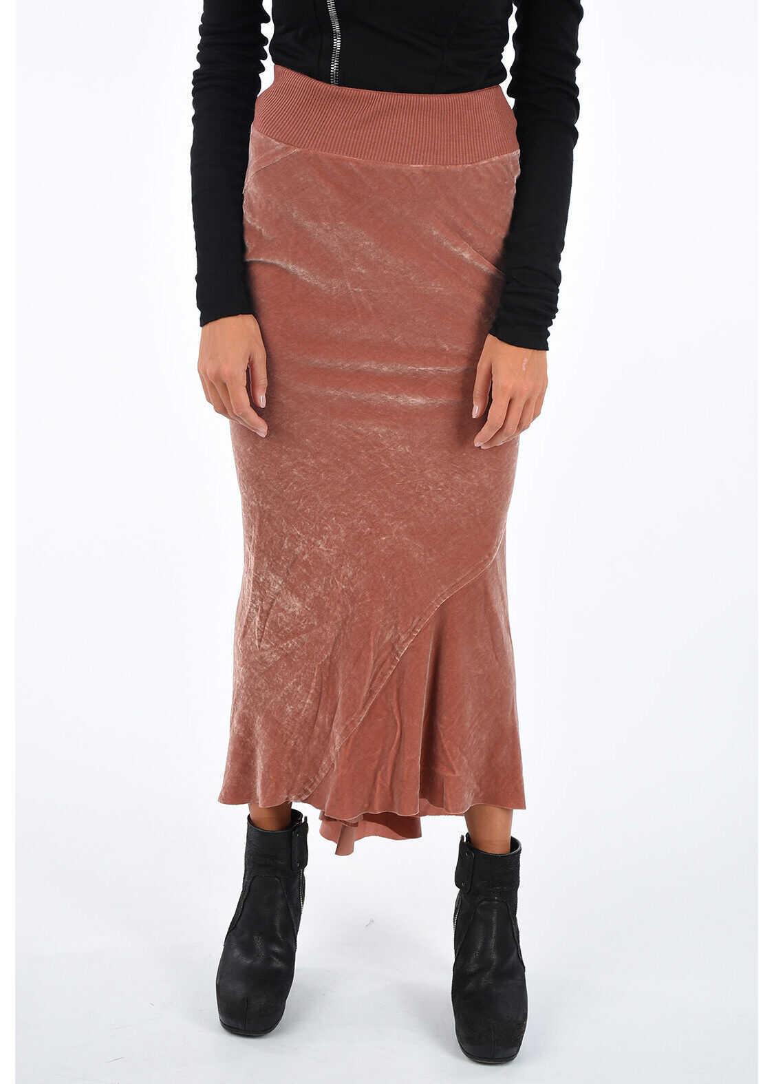 Chenille CALF LENGTH Skirt TERRA thumbnail