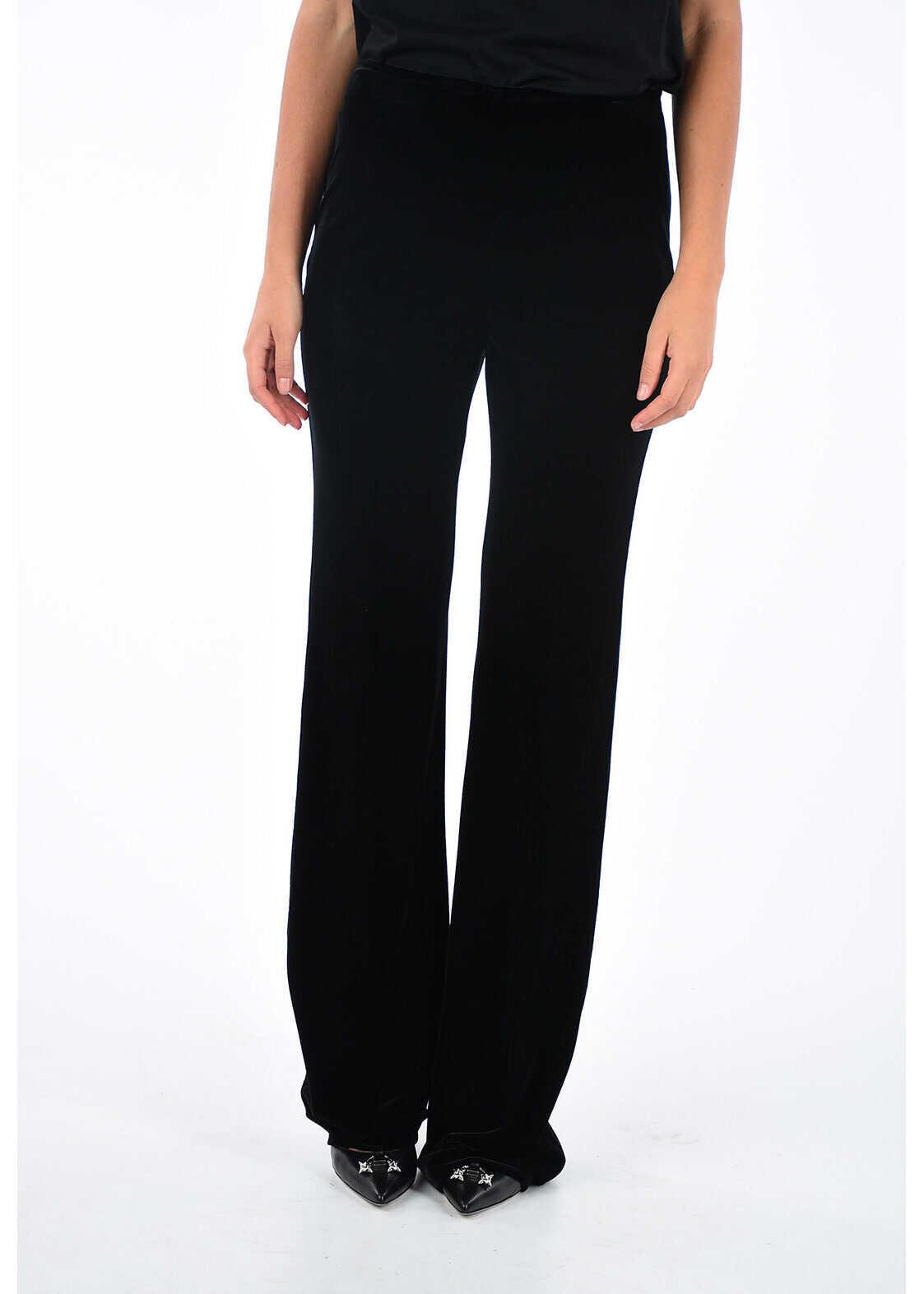 Miu Miu Velvet Pants BLACK