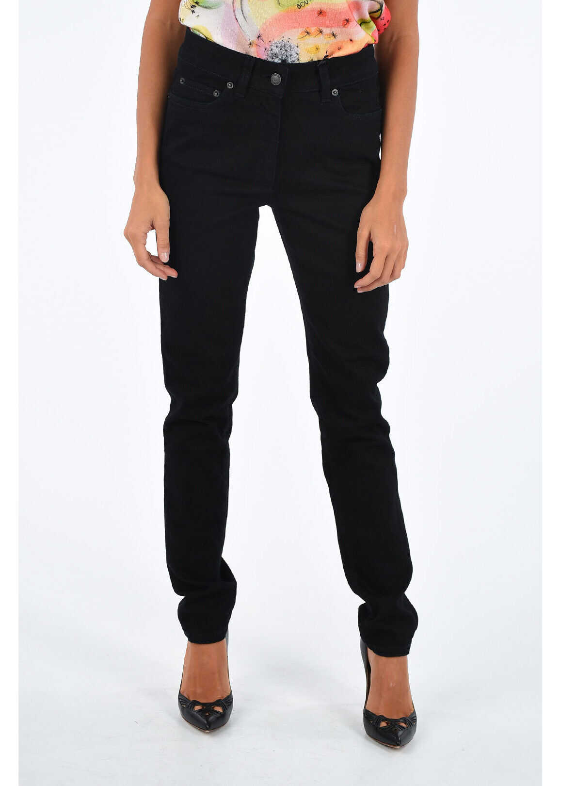 COUTURE 14cm high-rise waist skinny fit jeans thumbnail