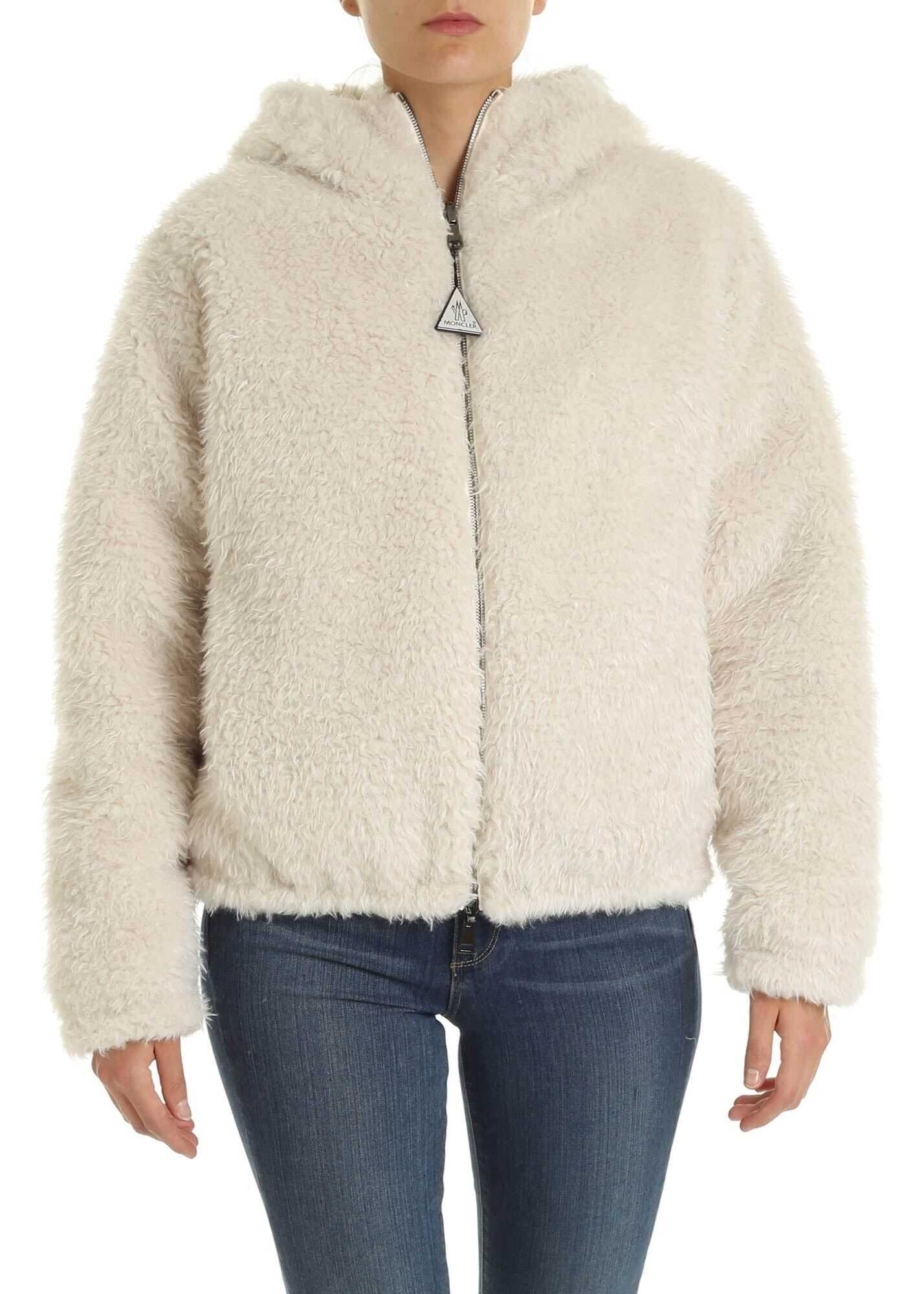 Kolima Eco-Fur In Ivory Color thumbnail