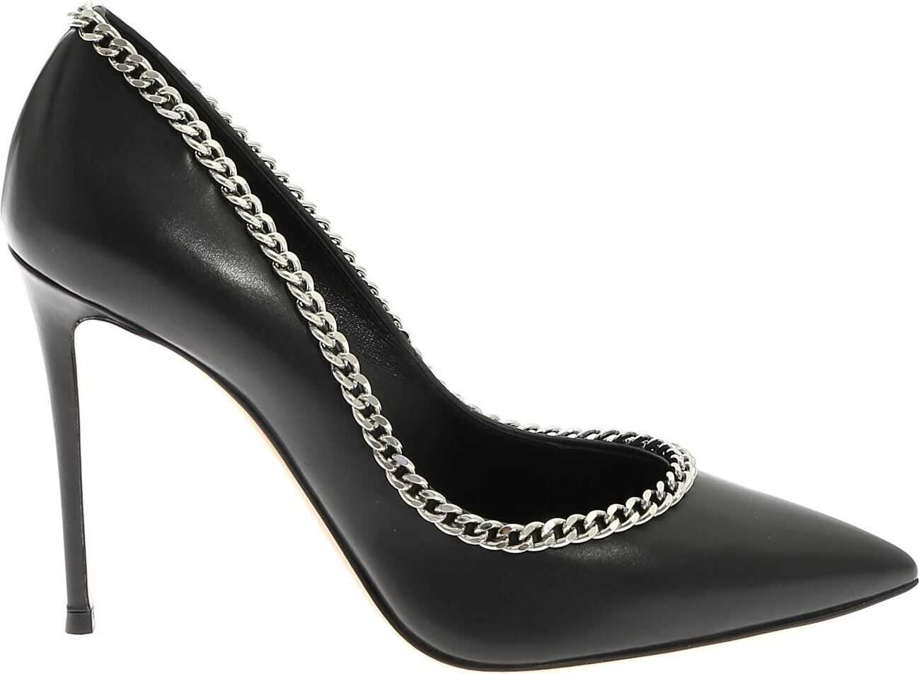 Pointed Pumps In Black Nappa thumbnail