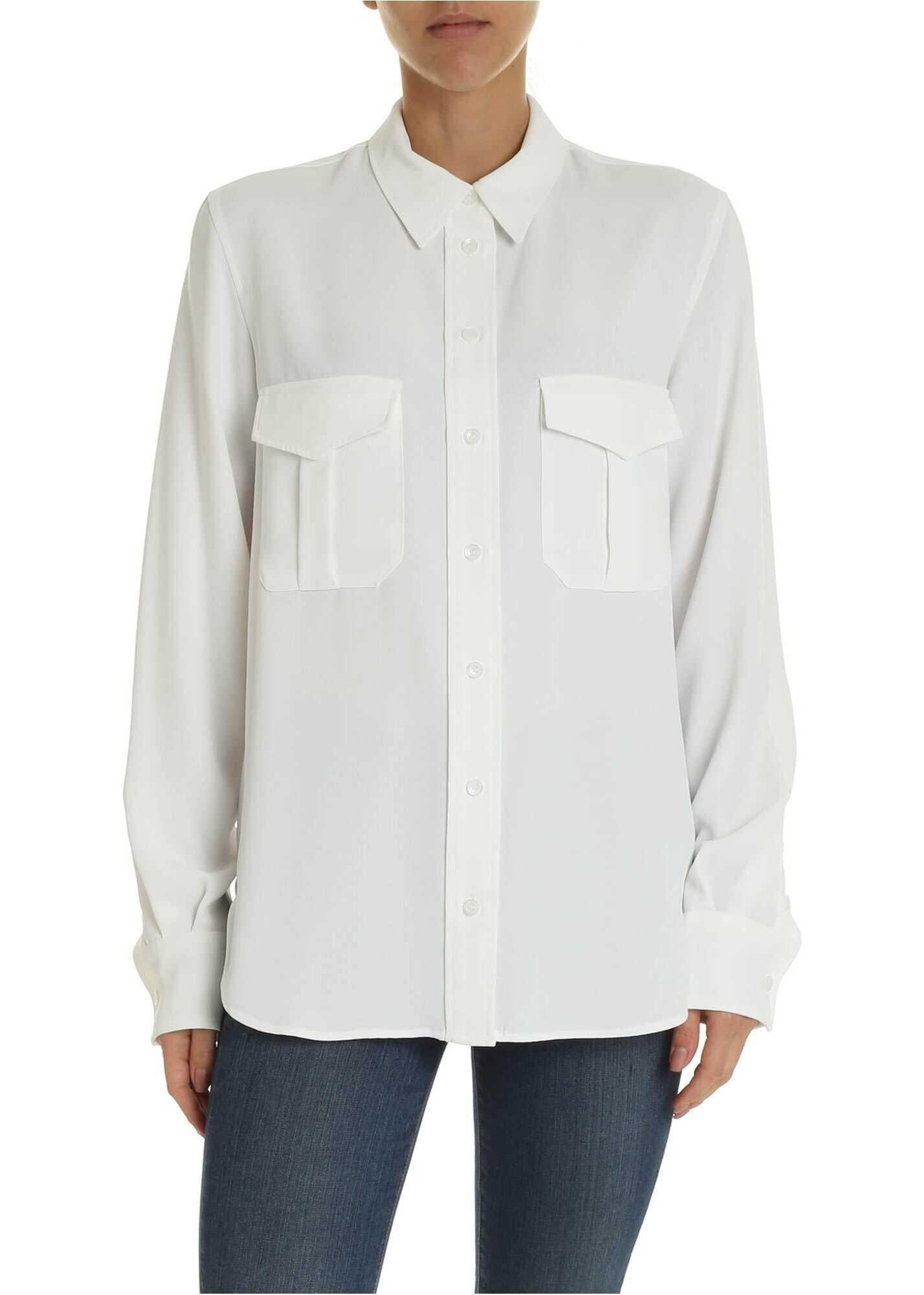 White Shirt With Pockets thumbnail