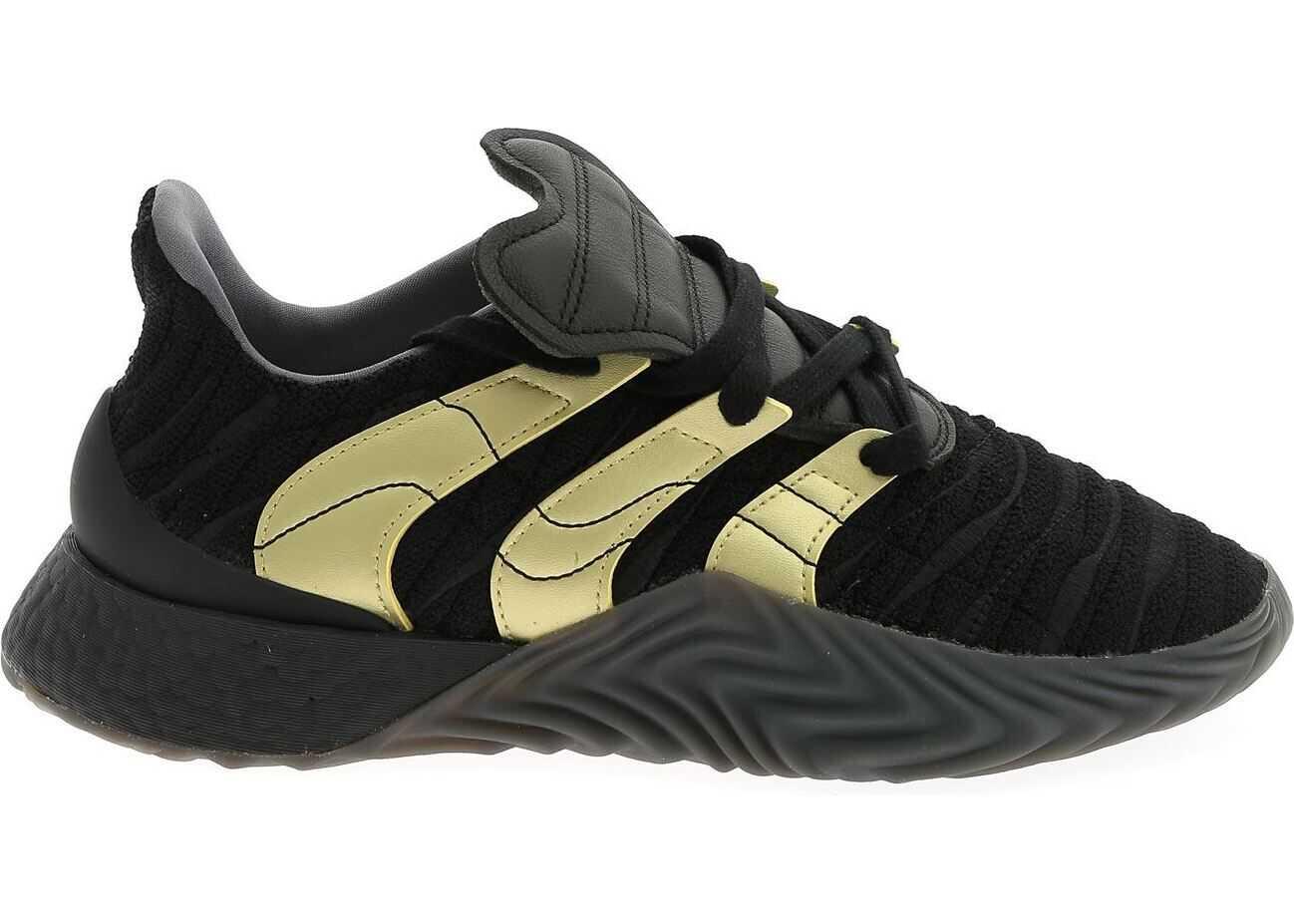 adidas Adidas Originals Sobakov Boost Sneakers In Black Black