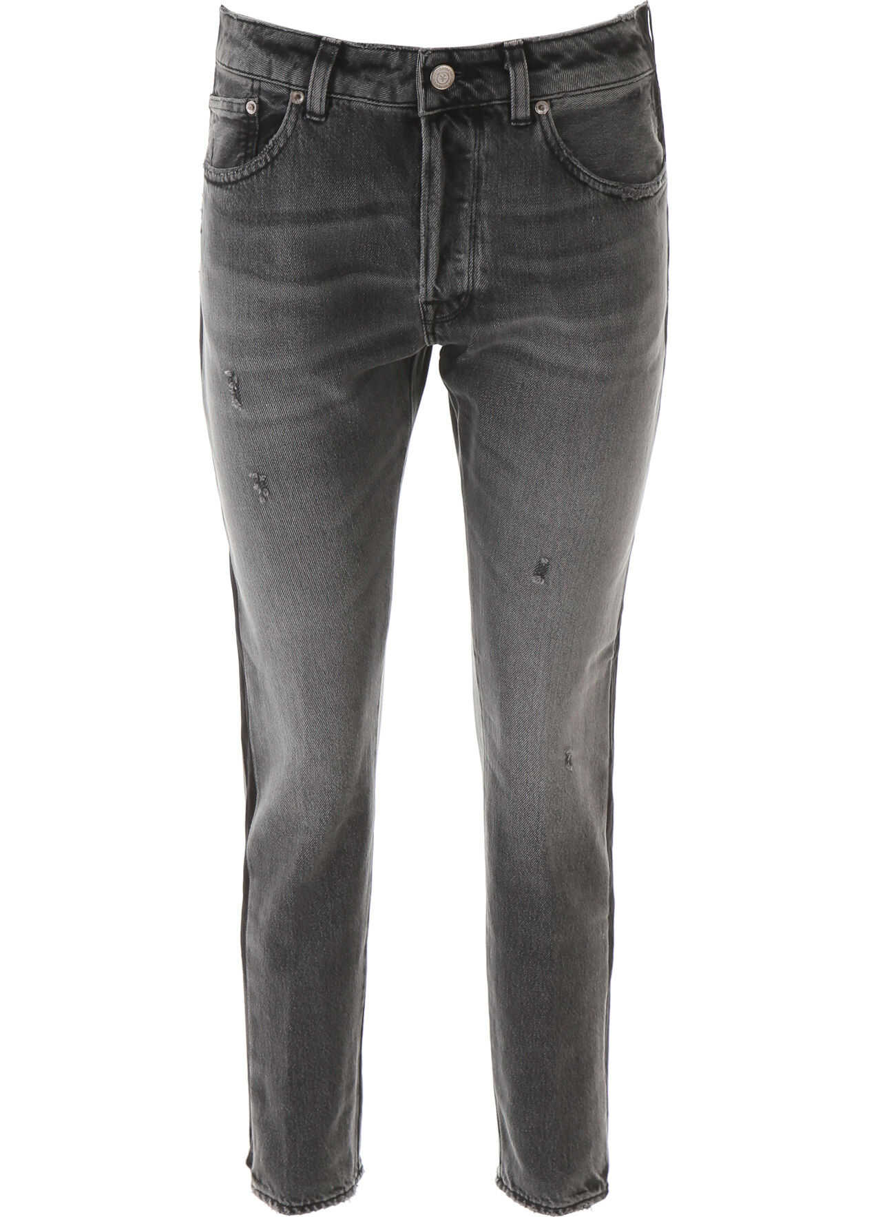 Golden Goose Jolly Jeans GREY BLACK SIDE