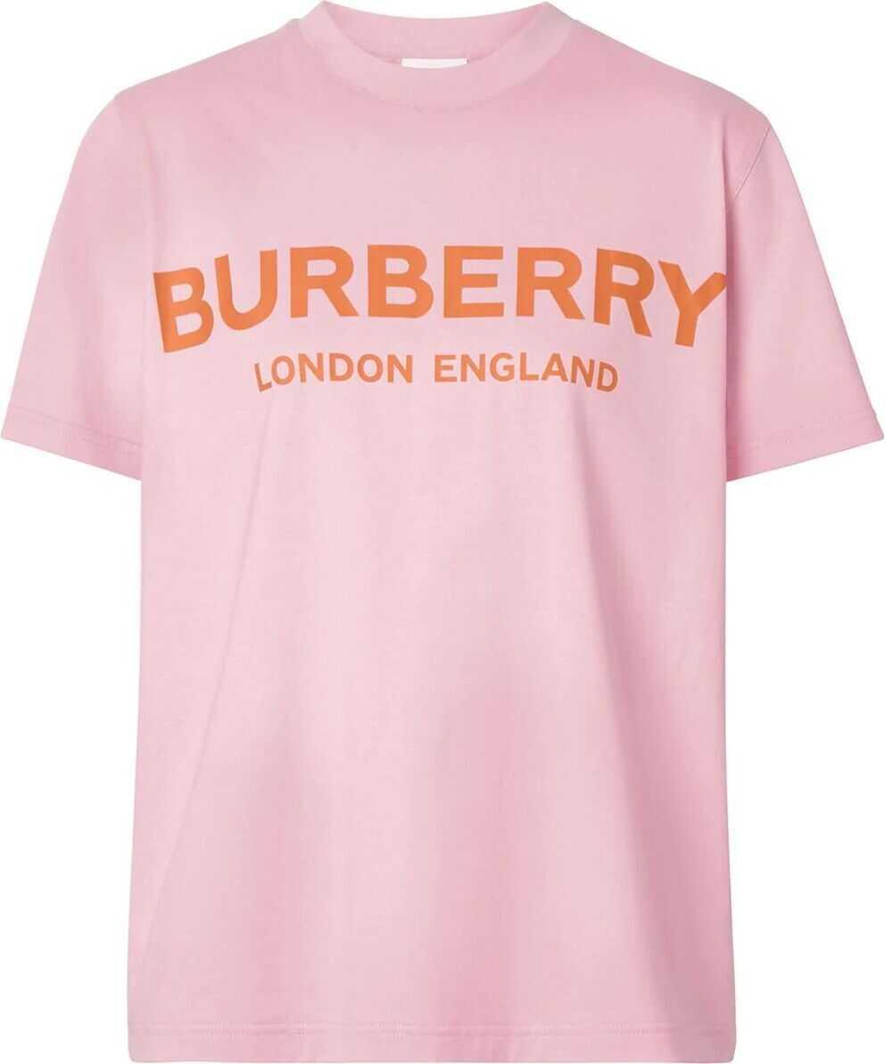 Burberry Cotton T-Shirt PINK