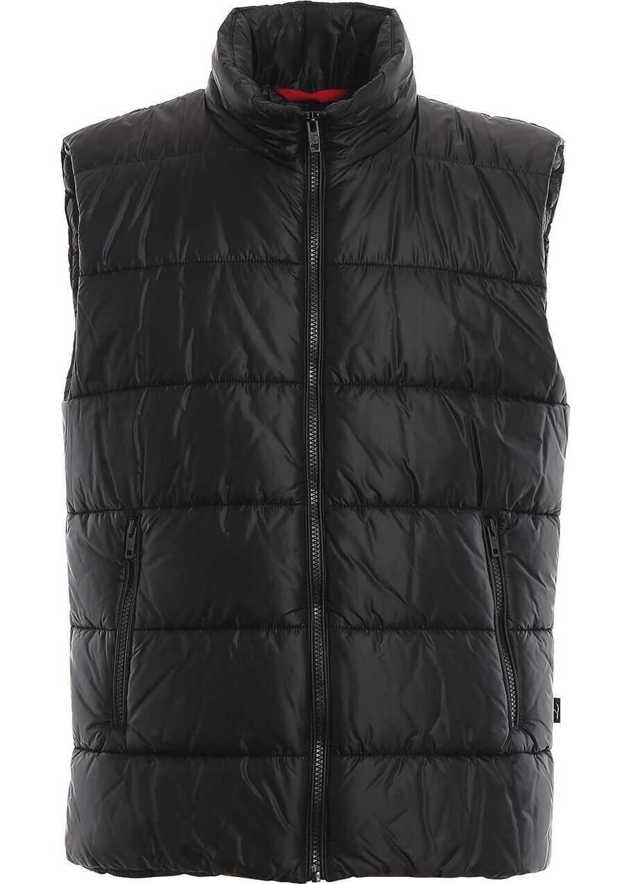 Fay Polyester Vest BLACK