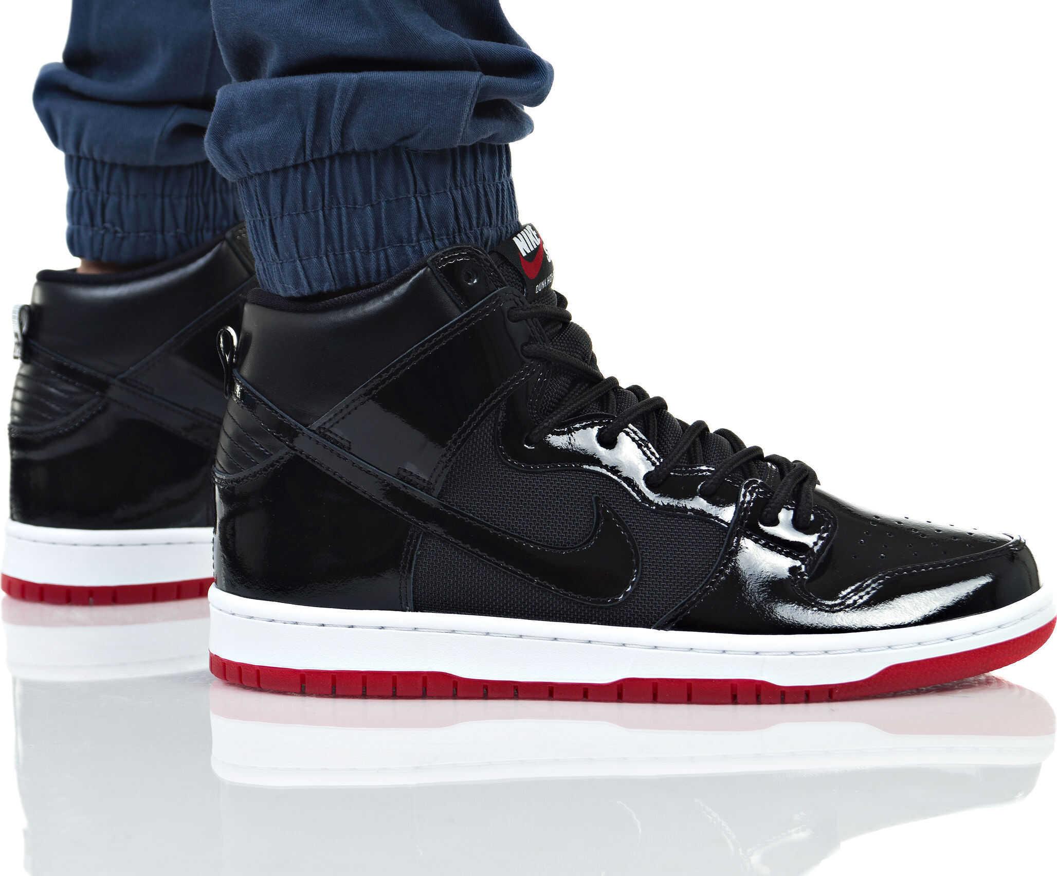 Nike SB Zoom Dunk High TR QS Negru