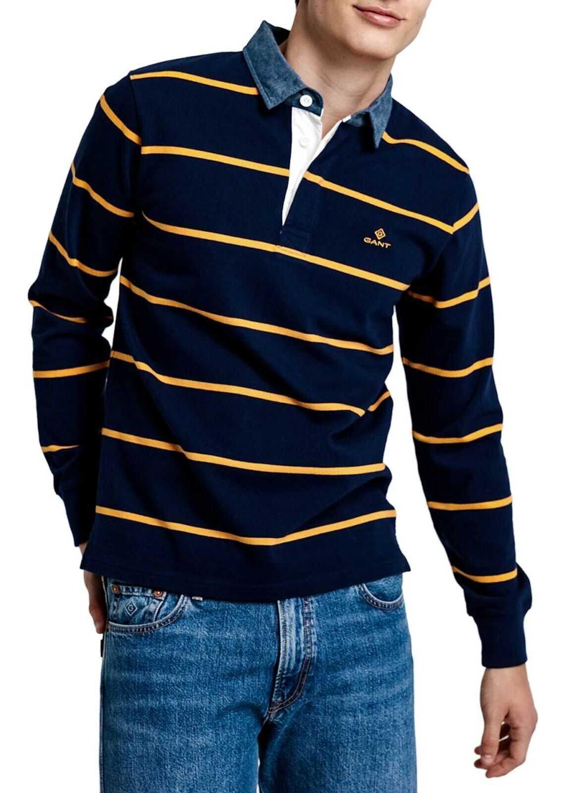 GANT Cotton Polo Shirt BLUE