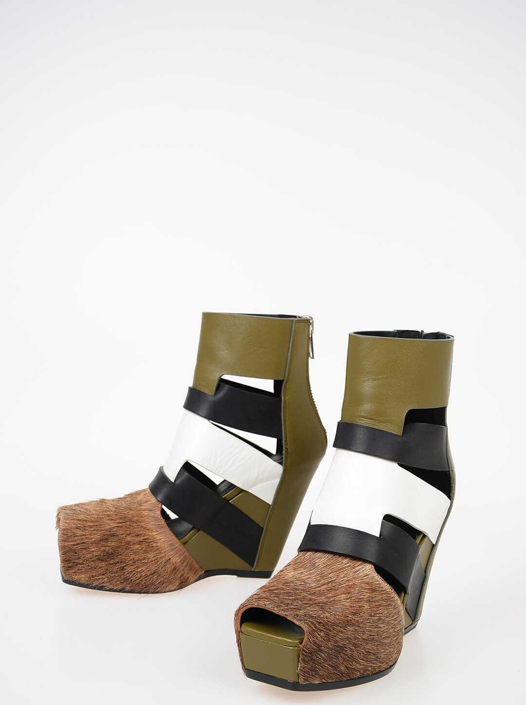 12cm Leather LAZARUS Sandals thumbnail