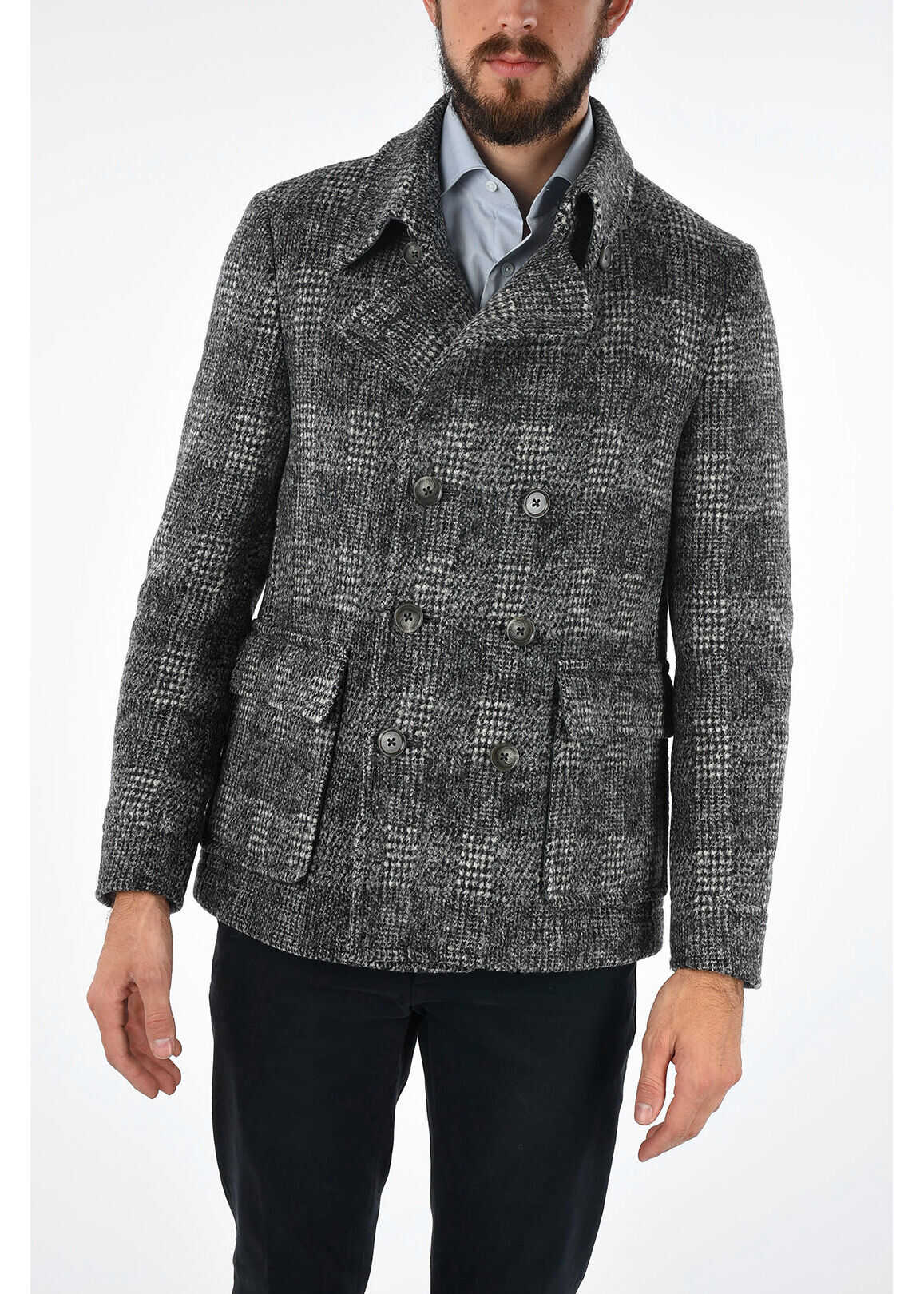 CC COLLECTION district check RESET peacoat thumbnail