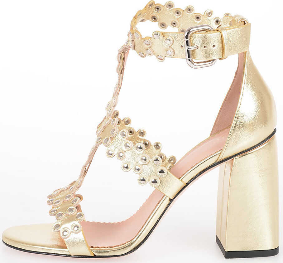 9cm Studded Leather Sandals thumbnail