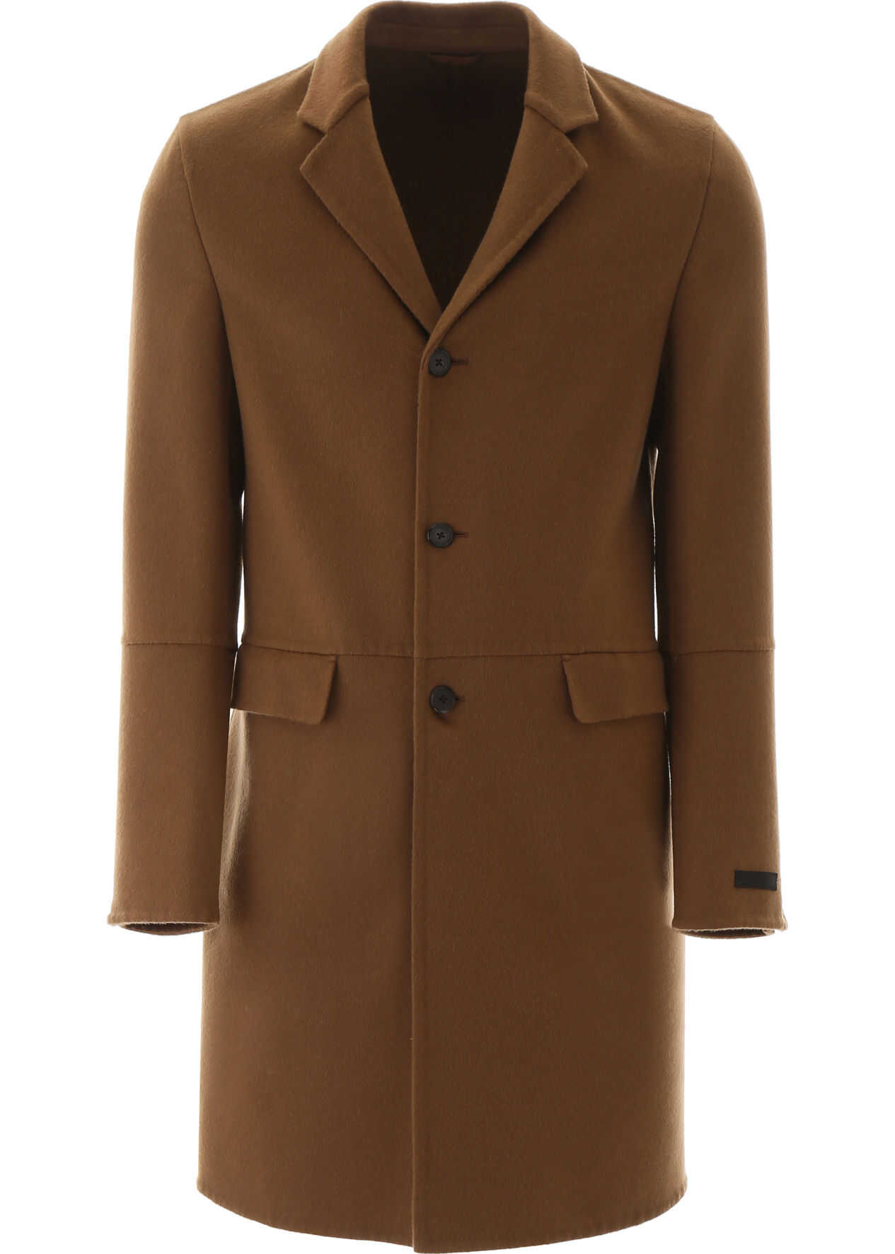 Prada Cashmere Coat TABACCO