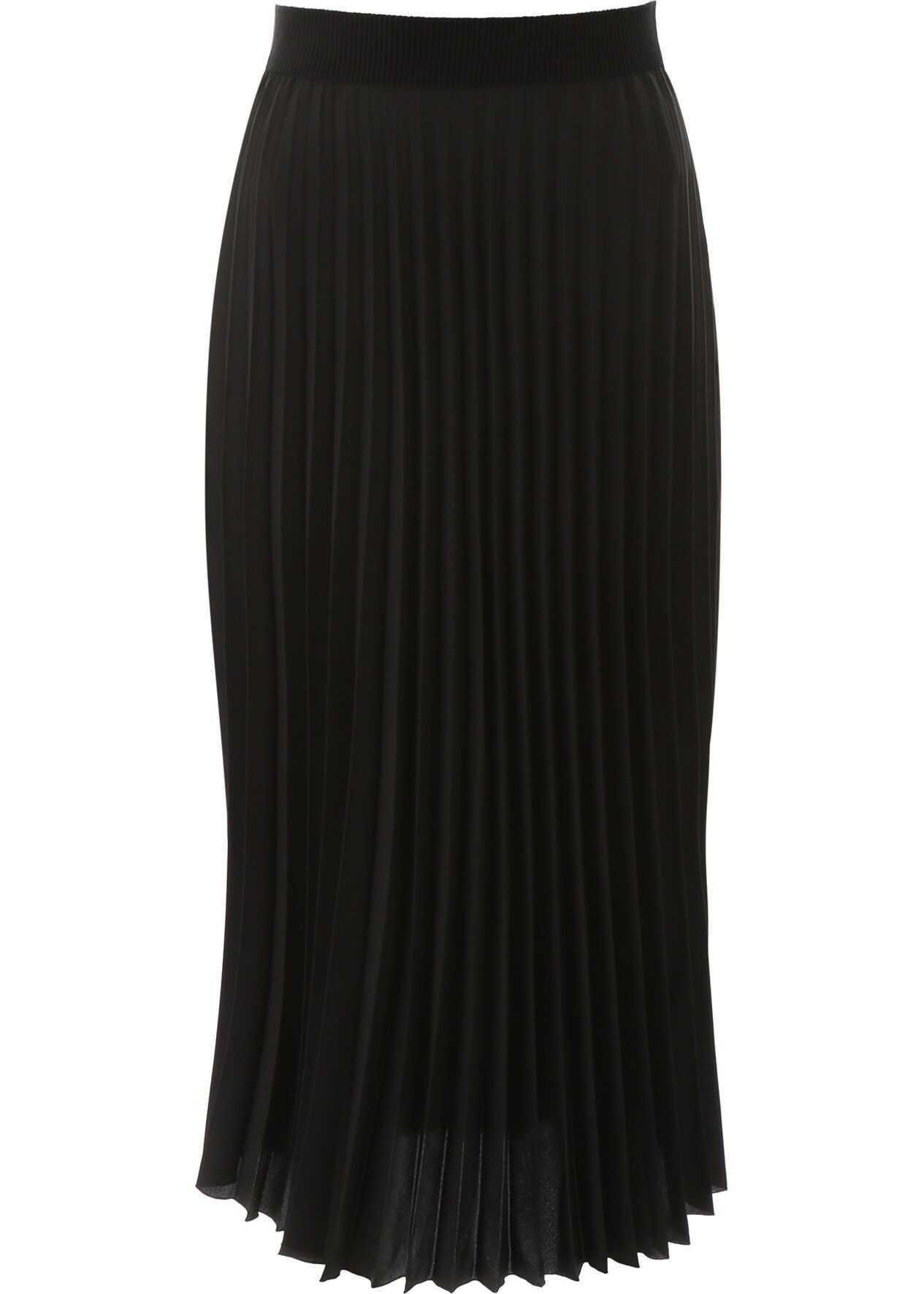 Moncler Pleated Skirt NERO