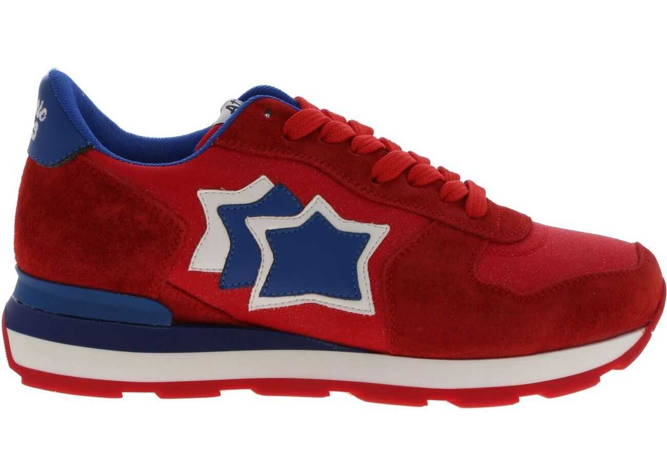 Atlantic Stars Vega Sneakers In Red Color Red