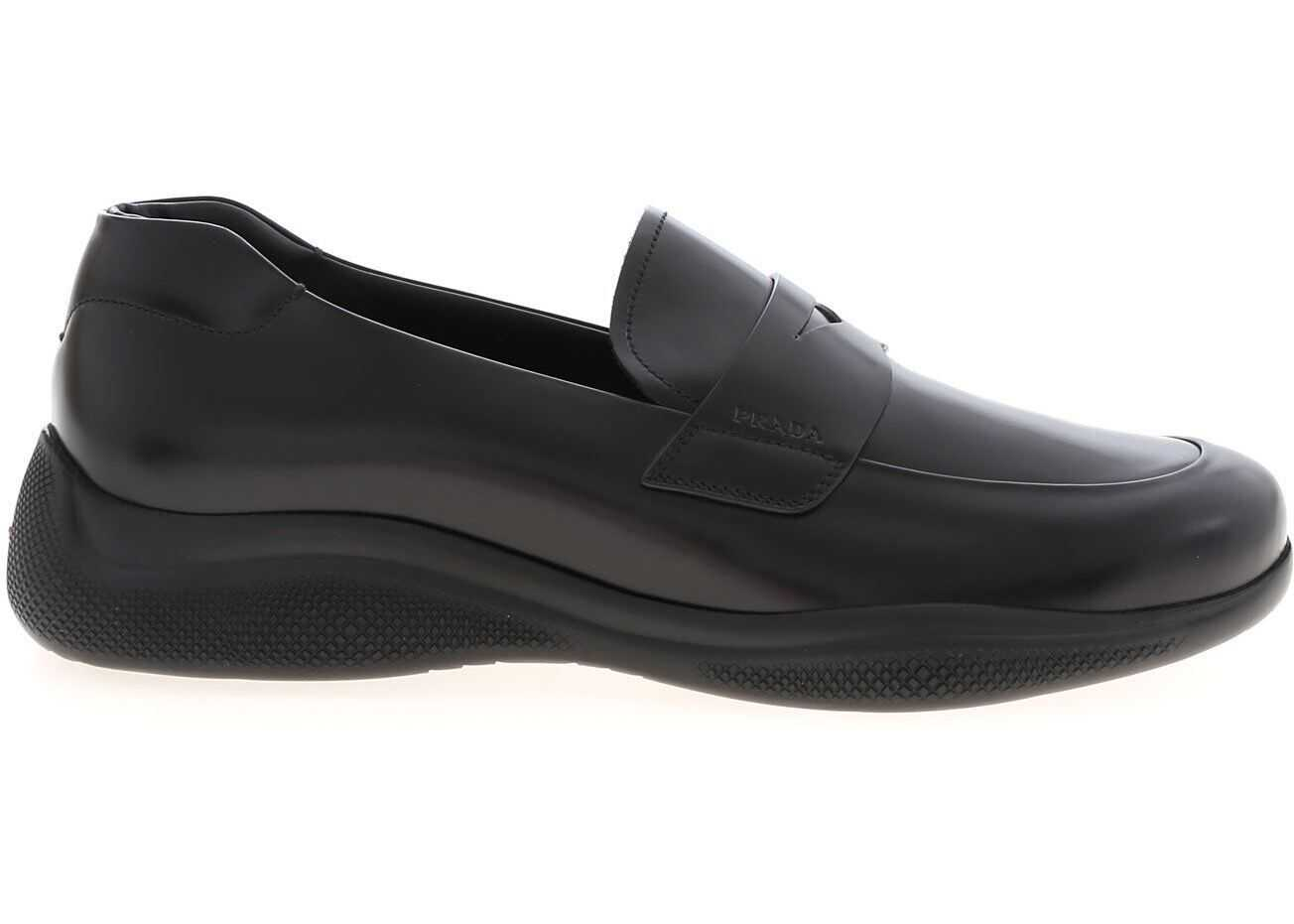 Loafers In Black Leather thumbnail