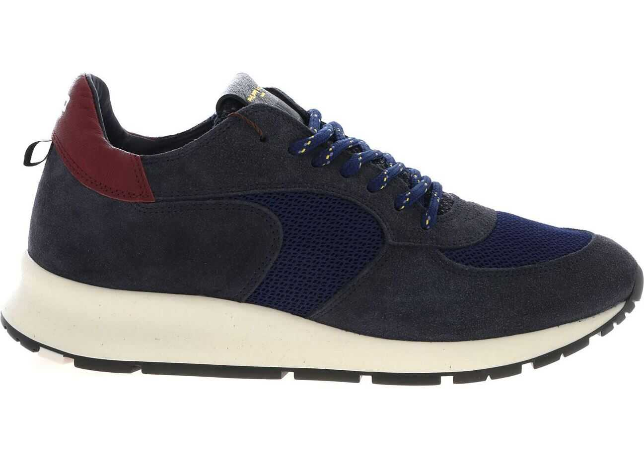 Philippe Model Montecarlo Sneakers In Blue Blue