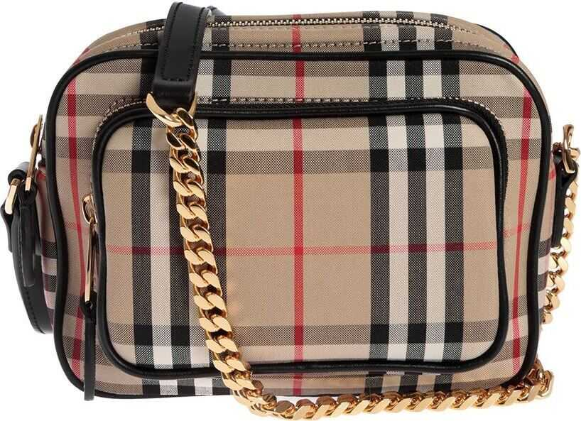 Camera Small Bag In Vintage Check Pattern thumbnail