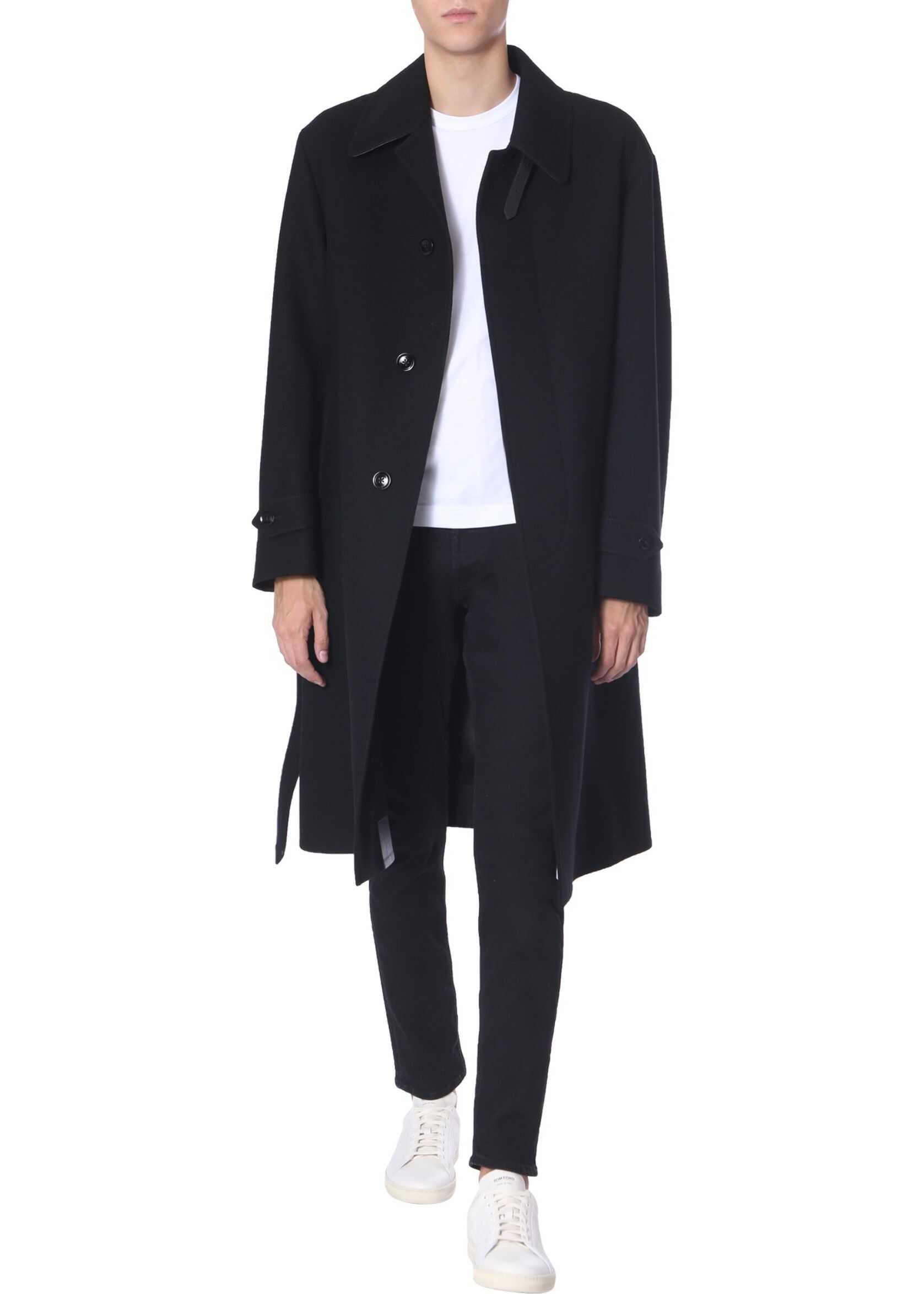 Tom Ford Wool Trench BLACK